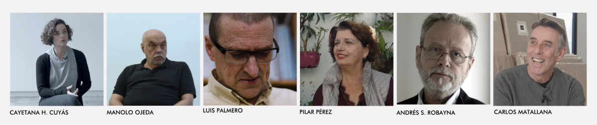 Protagonistas principales del documental